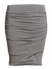 Tees Skirt - Grey melange