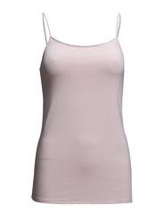Basic Singlet - Vintage pink