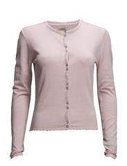 Viscose Cardi - Vintage pink