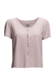 Viscose Raglan Cardi - Vintage pink