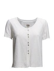Viscose Raglan Cardi - Vintage white