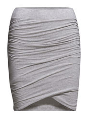 Tees Skirt - Light grey melange
