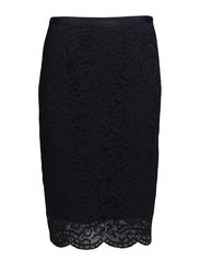 Pretty Lace Skirt - Navy