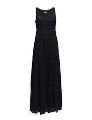Pretty Lace Maxi Dress - Navy