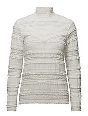 Long Sleeve - Victorian Lace - 002 VINTAGE WHITE