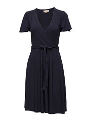Turtleneck Dress - Silhouettes - 323 MARINE