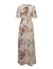Maxi Dress - Semi Couture - 706 BLOSSOMS WHITE