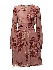 Bell Sleeve Dress - Semi Couture - 707 AUTUMN BOUQUET