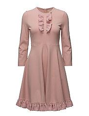 Jersey Mini Dress - DUSTY PINK