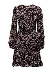 Bell Sleeve Dress - DRIZZELING FLOWERS