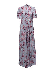 Tie-Back Gown - 378 MIDUMMER FLOWERS
