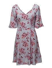 Tie Dress - 378 MIDUMMER FLOWERS