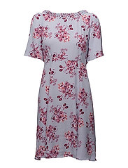 Roulou Embroidered Day Dress - 378 MIDUMMER FLOWERS