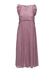 Vintage Lace Midi Dress - 242 PINK