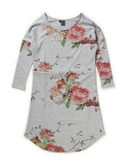 Dress - all over print flower