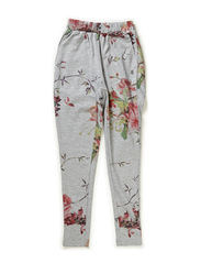 Pants, Loose fit - all over print flower