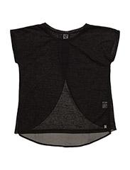 Knit s/s - black