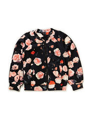 Jacket - all over print flower