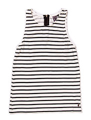 Striped top - Striped black/off white