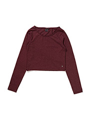 Crop top - BORDEAUX