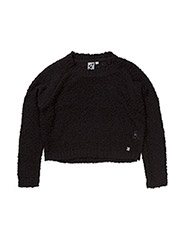 Bubble knit - BLACK