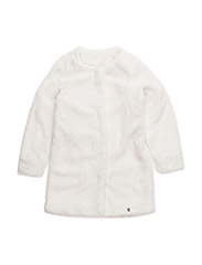 Teddy cardigan - OFF WHITE