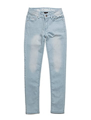 LACE jeans - LIGHT BLUE DENIM