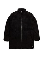 Long winter coat - BLACK