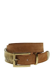 Rattle Belt - TERRA SUEDE GOLD