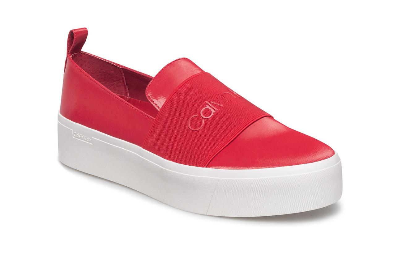 Calvin Klein Chaussures Jacinta Satin Canvas Réduction De 100% Garanti Faible Expédition En Ligne La Vente En Ligne Officielle KNJhf