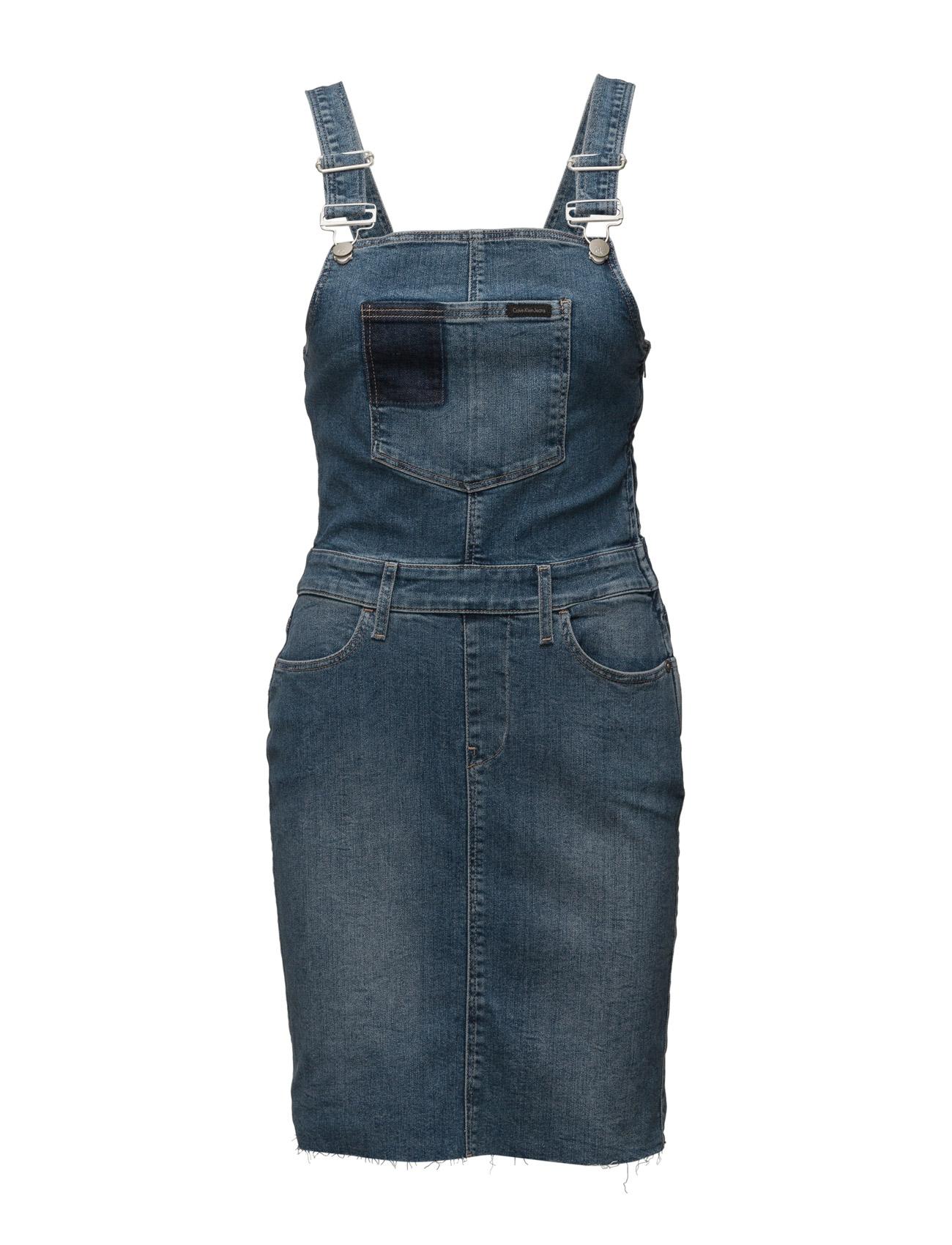 Dungaree Dress - Uni Calvin Klein Jeans Korte kjoler til Damer i