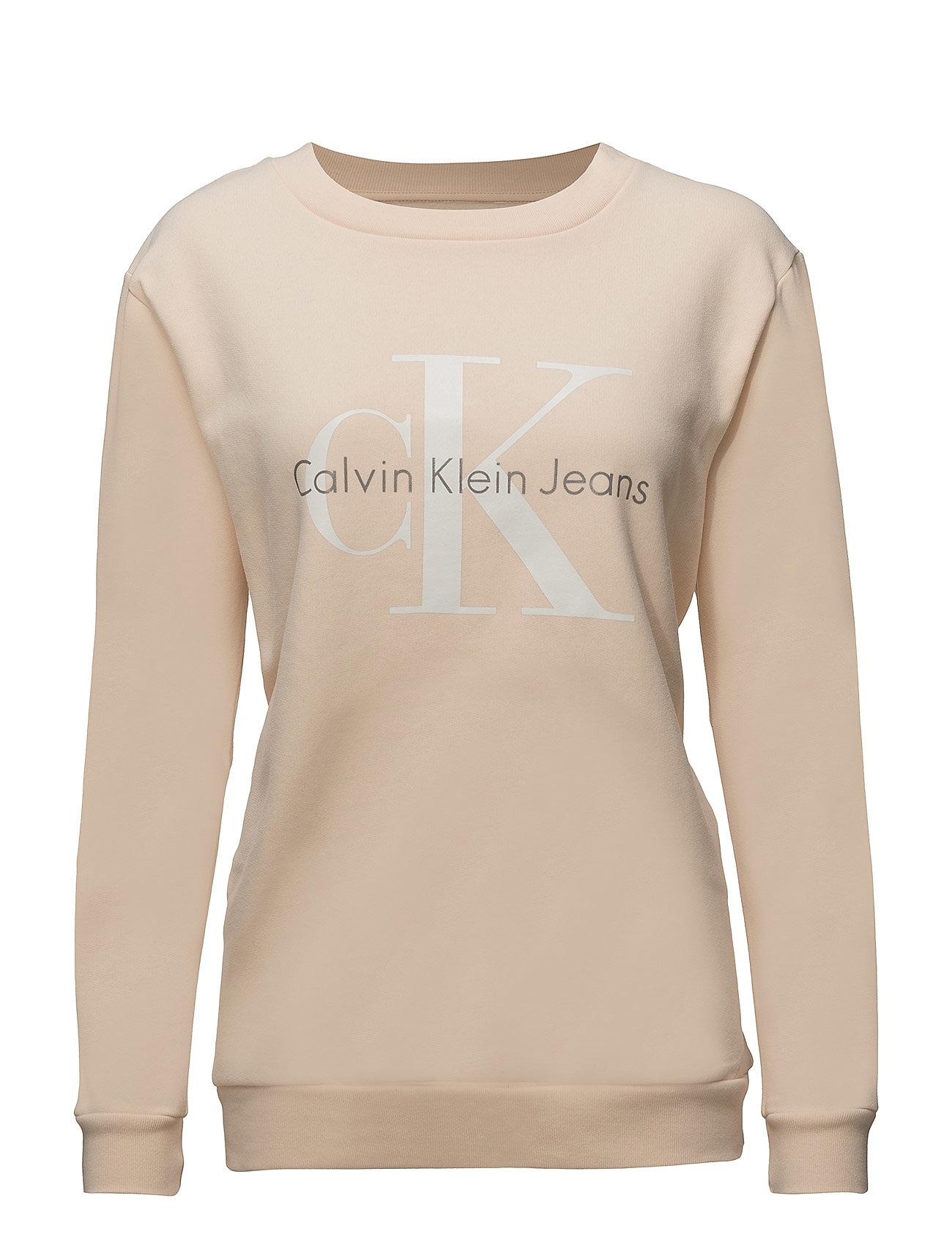 Crew Neck Hwk True I Calvin Klein Jeans Striktrøjer til Kvinder i