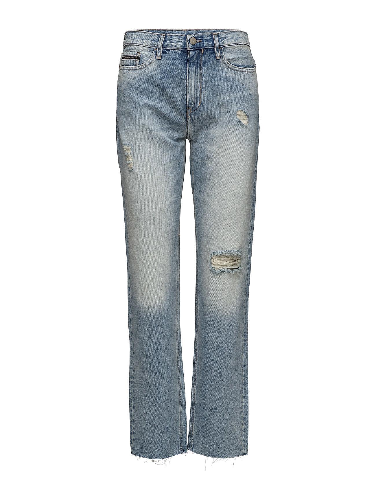 calvin klein jeans Hr straight ankle ra på boozt.com dk