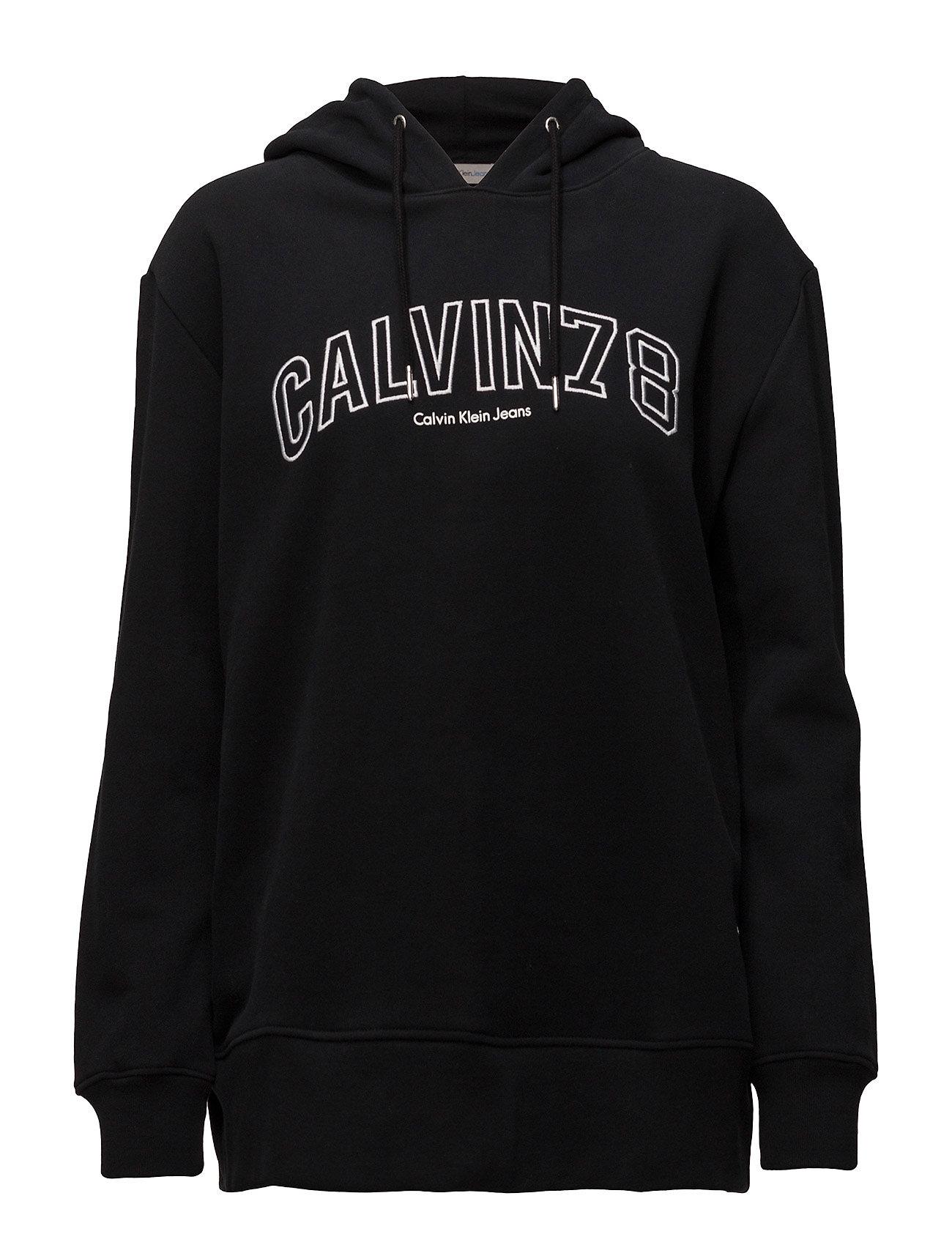 loose fit hoodie pullover 78 ck black. Black Bedroom Furniture Sets. Home Design Ideas