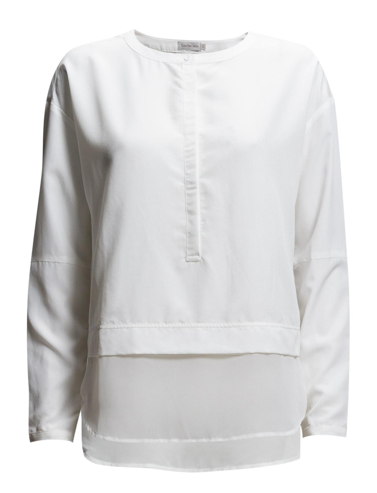 Eva Shirt L/S Calvin Klein Jeans Langærmede til Damer i