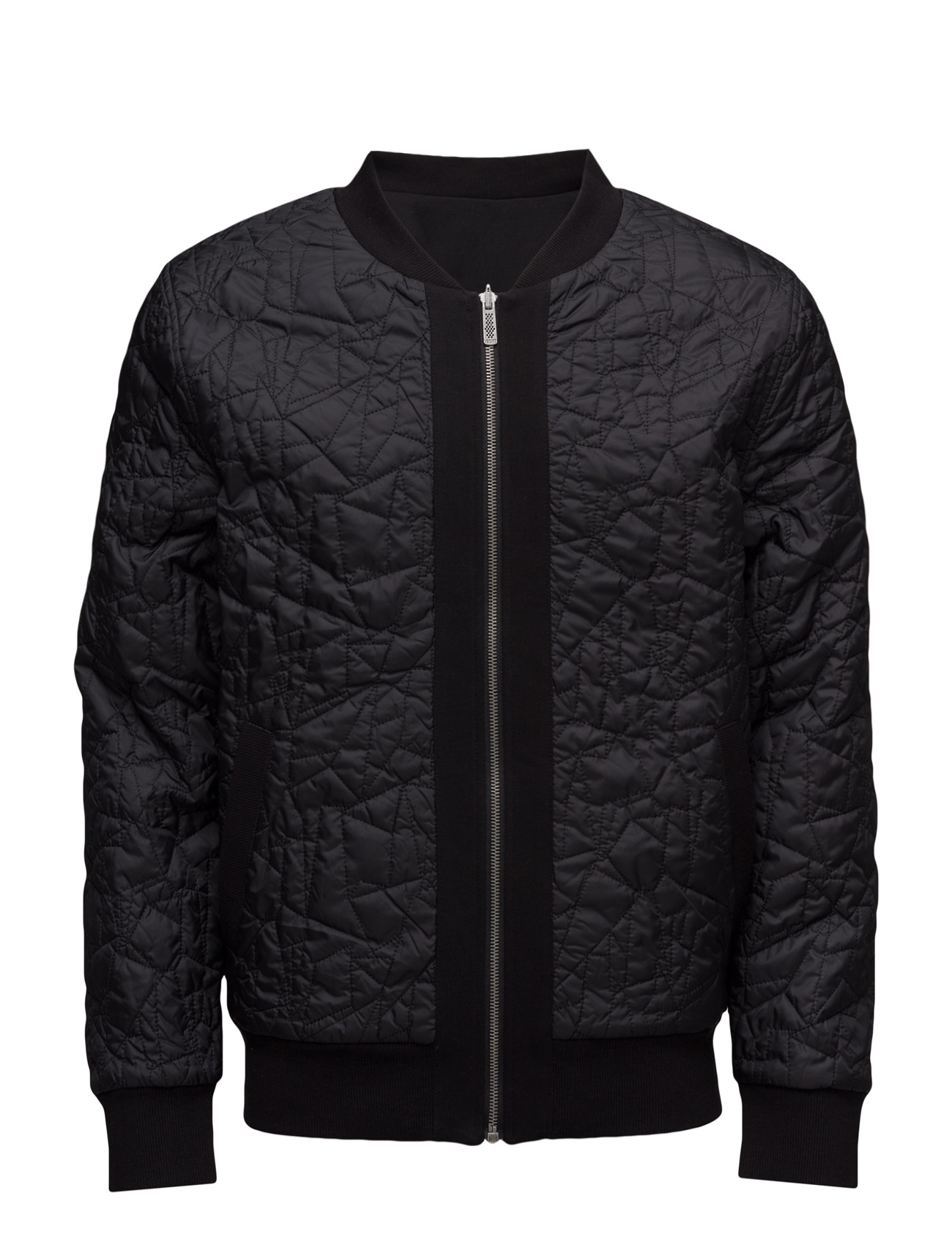 Jeb Reversible Quilted Bomber