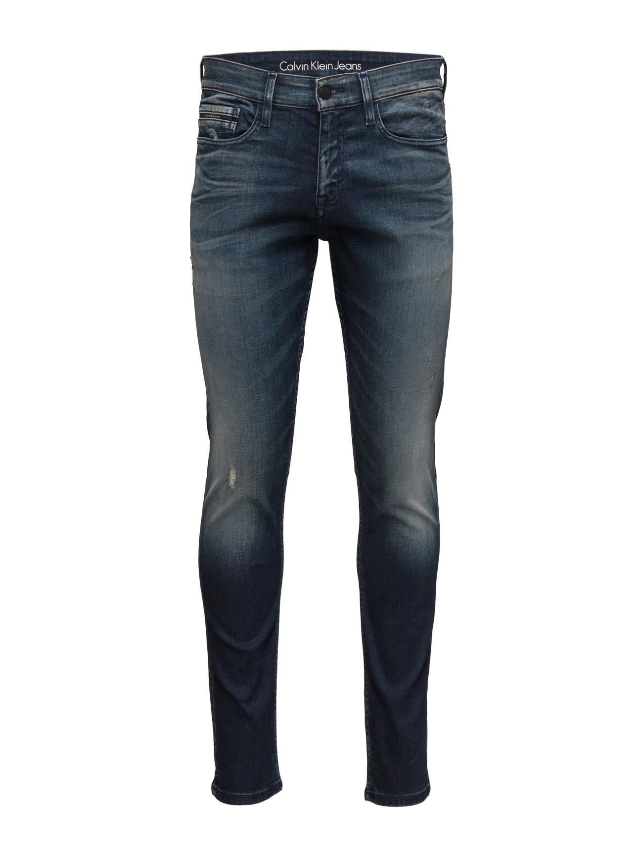 Skinny - Chalk Board Calvin Klein Jeans Skinny til Mænd i