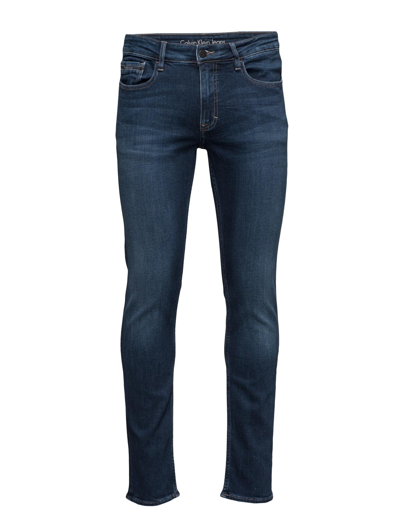 calvin klein jeans Slim straight - true fra boozt.com dk