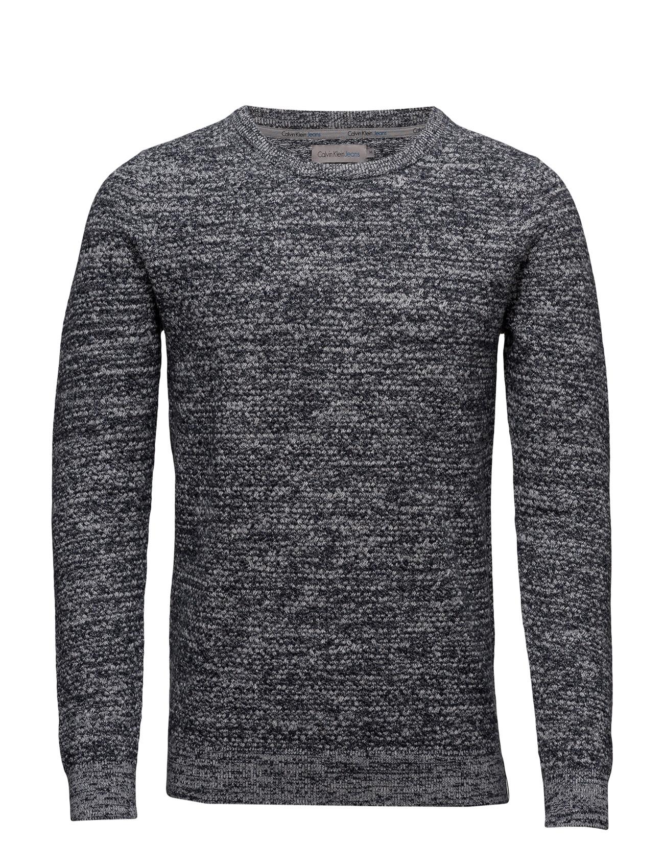 South Cn Sweater L/S Calvin Klein Jeans Rundhalsede til Herrer i ck Black