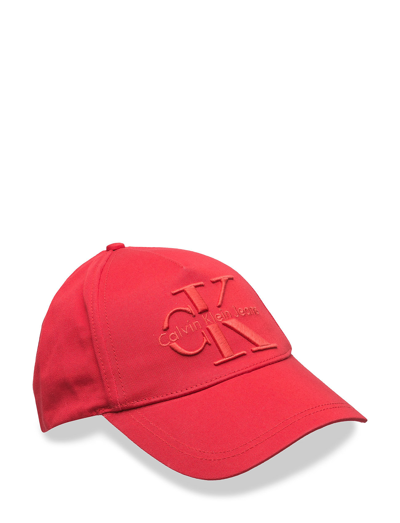 Re-Issue Cotton Cap, Calvin Klein Jeans Kasketter til Herrer i Fiery Red