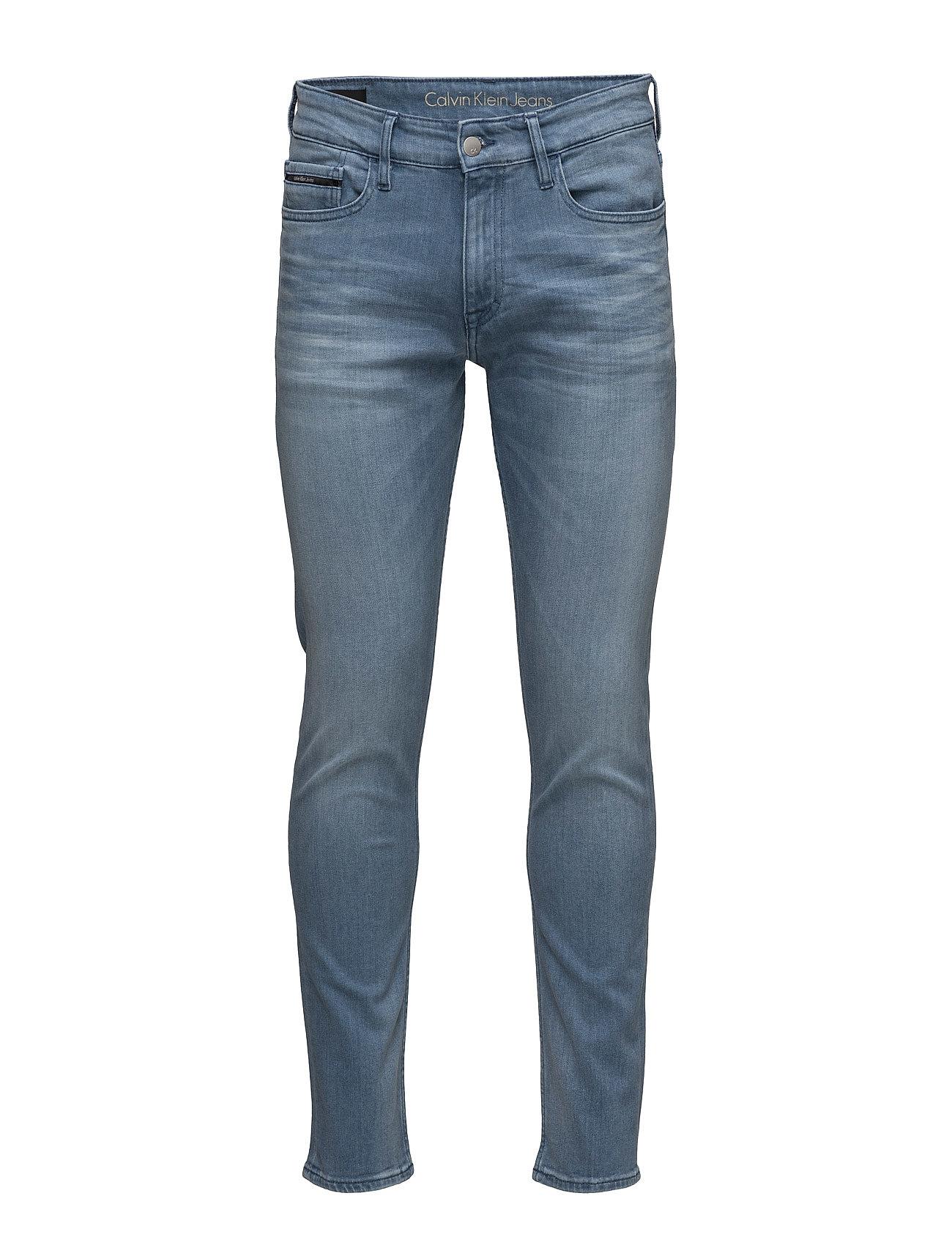Skinny - soft teal, fra calvin klein jeans på boozt.com dk