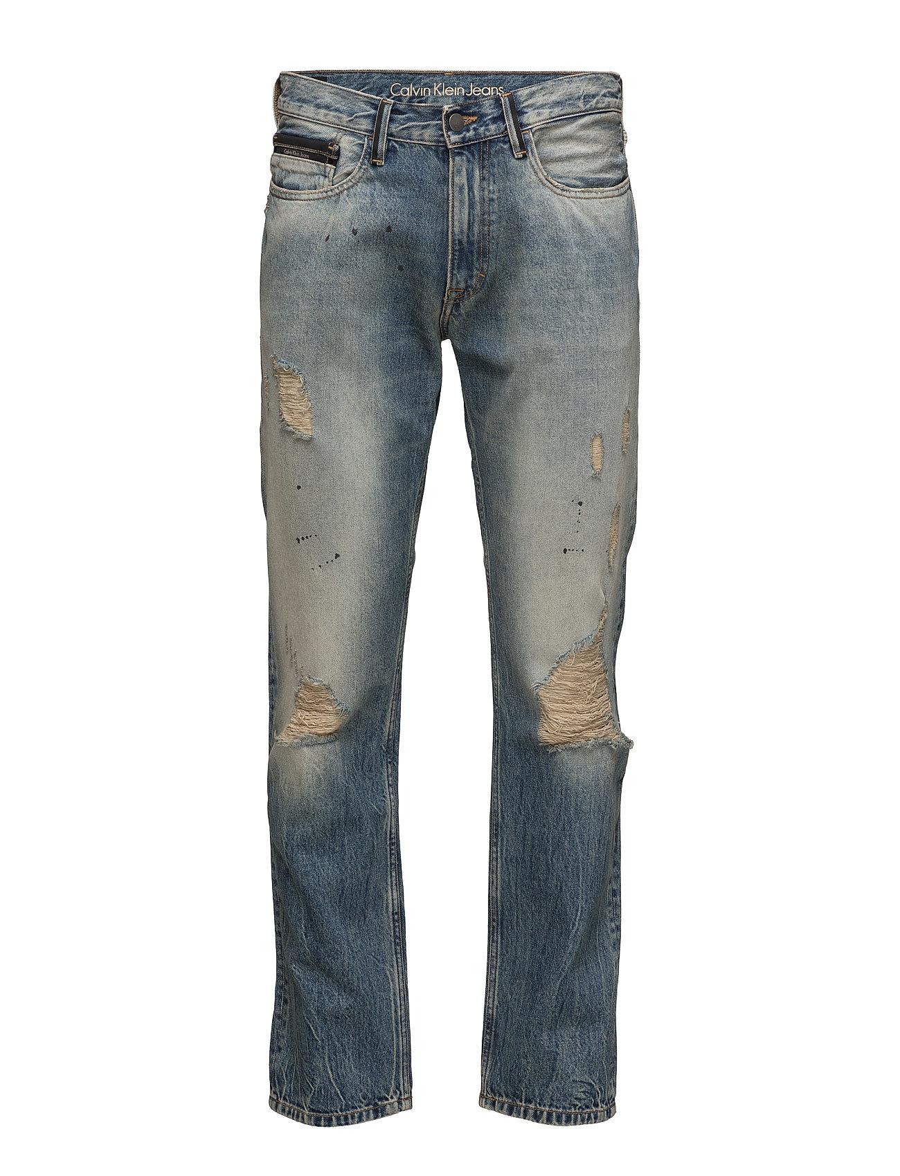 calvin klein jeans Straight - oil splas på boozt.com dk