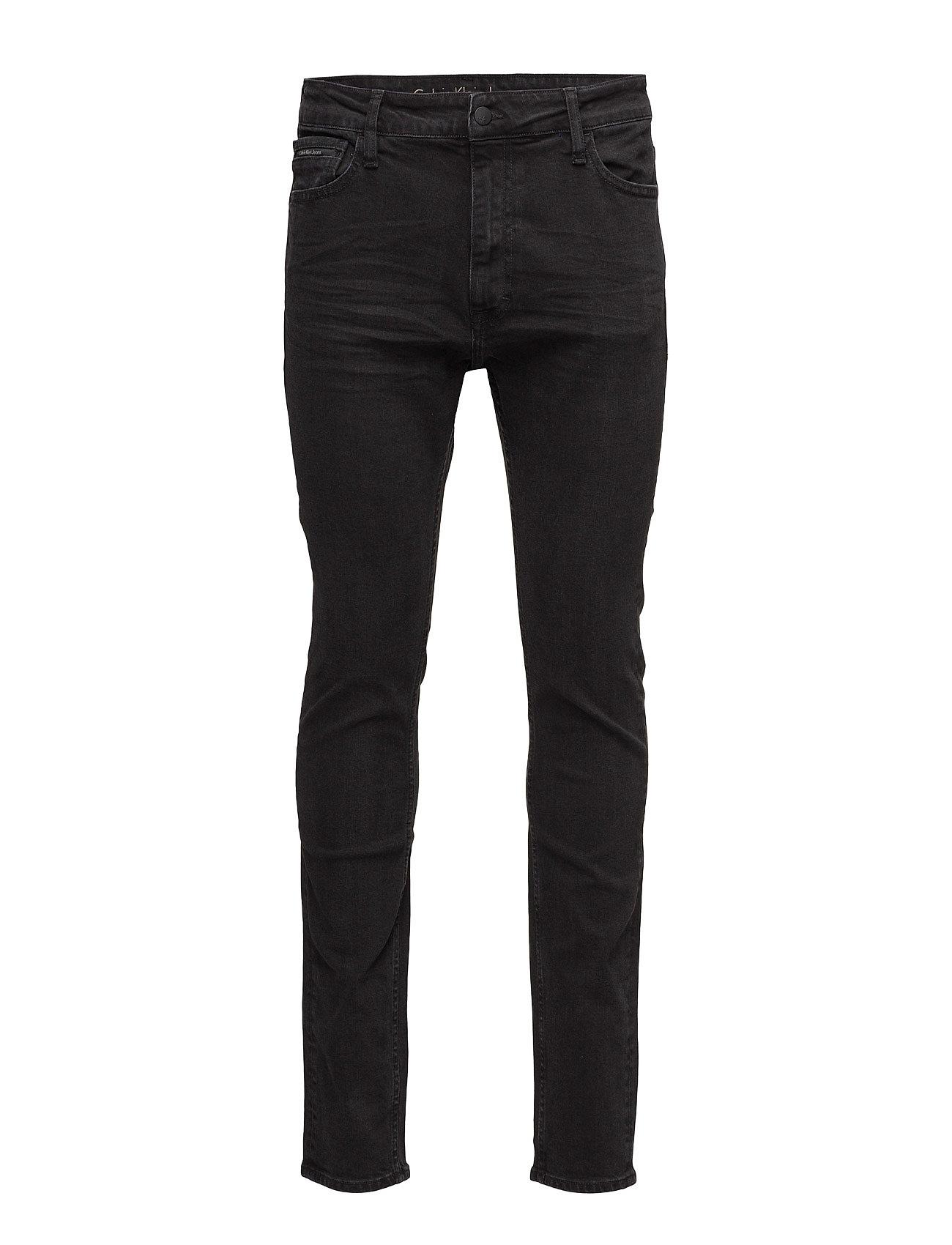 calvin klein jeans – Skinny taper - black fra boozt.com dk