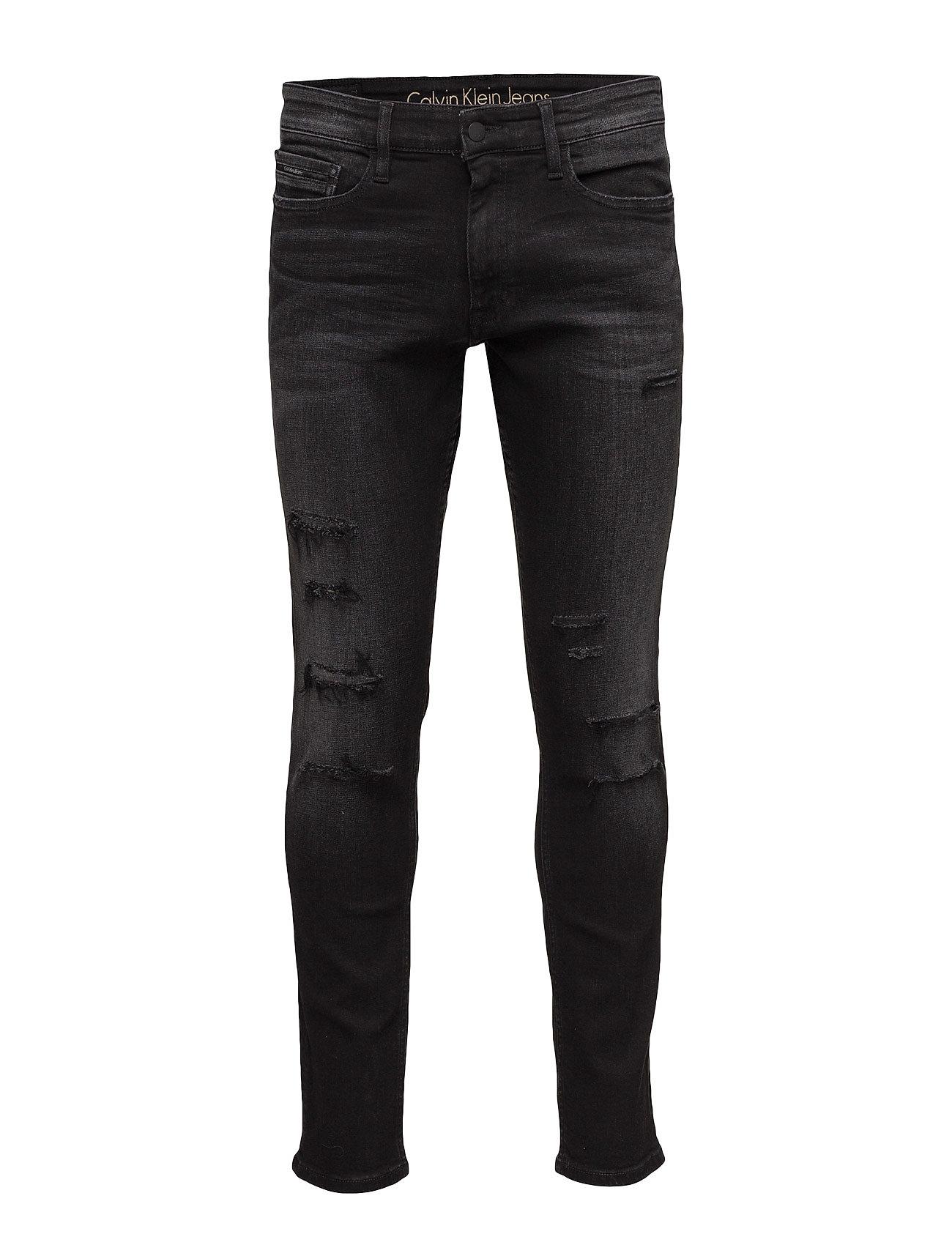 Skinny - somber blac fra calvin klein jeans på boozt.com dk