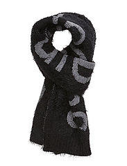 AMY WOOL SCARF 099, - CK BLACK