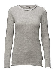 SUELLON SLIM FIT CN, - LIGHT GREY HEATHER