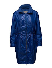 OBA LONG PARKA, 495, - SODALITE BLUE