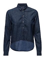 High Low Boy Shirt - - BLUE STONE