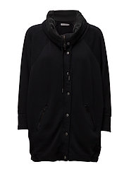 HALEY  HWK CARDIGAN, - CK BLACK