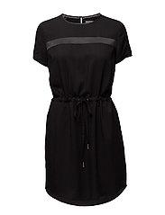 DAMIA WOVEN MM DRESS - CK BLACK
